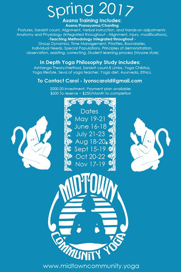 Workshops Events Midtown Community Yoga