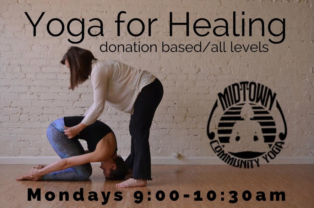 These classes are led by a cancer survivor and yogini of 20+ years, Susan Hoog. Join her for a healing practice designed to stimulate the lymphatic system and address muscle fatigue, while using ancient breathing practices to quiet your mind and temper anxiety. Open to any practitioner, and all levels are encouraged.