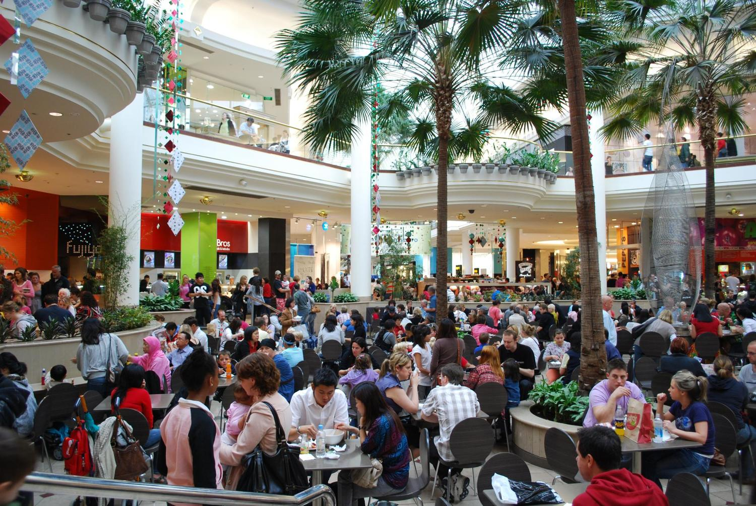 Image result for mall food court crowded