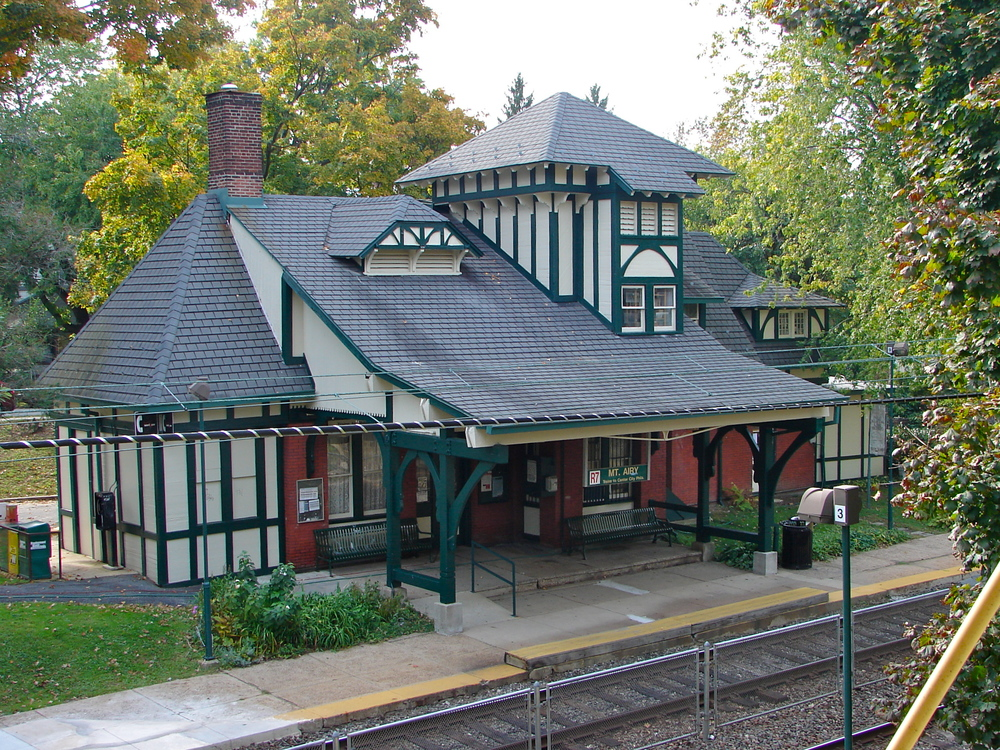 Courtesy of Wikimedia Commons - Mount Airy Station