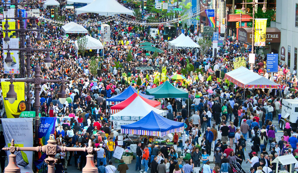Image of PIFA Street Fair Courtesy of Visit Philly