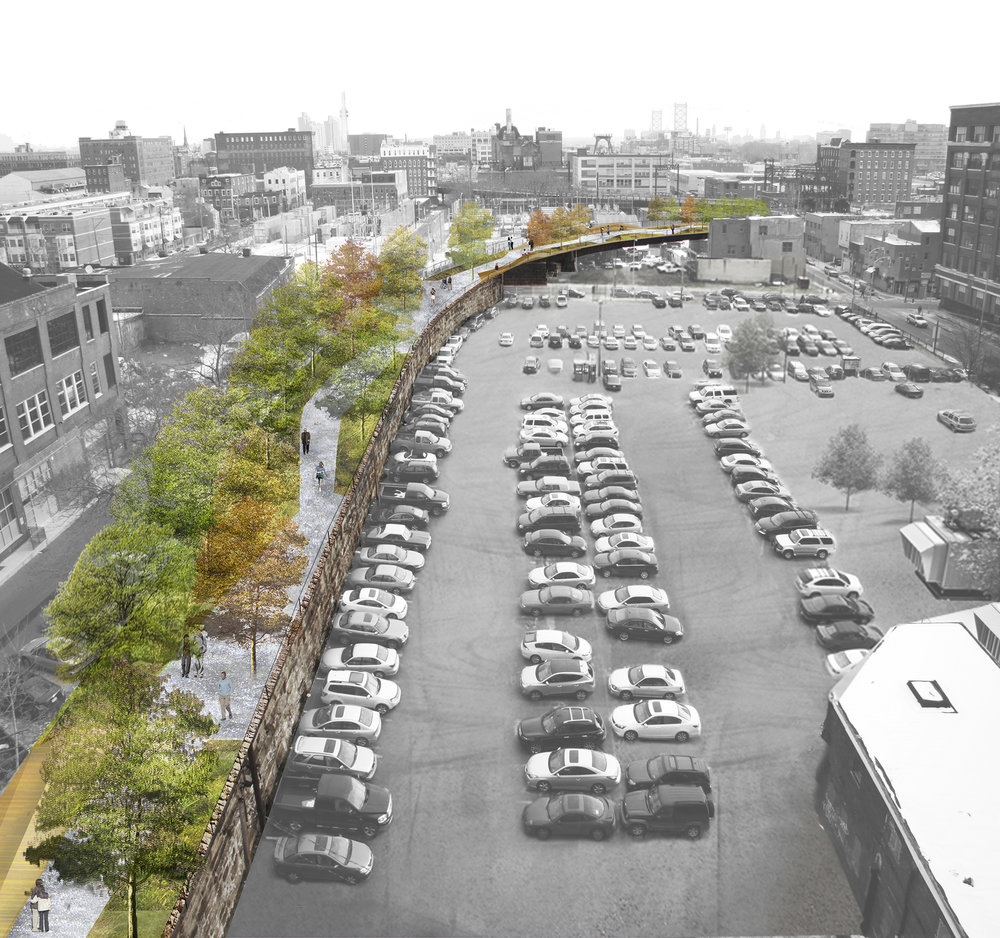 Rail Park rendering by Studio Bryan Hanes