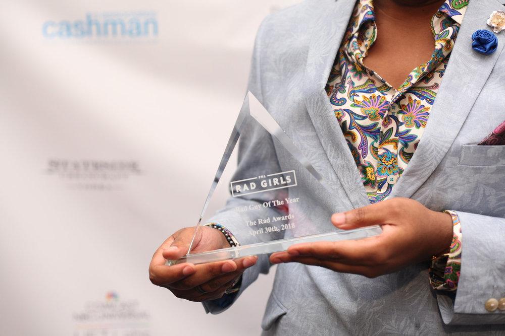 Ernest Owens, Award-Winning Journalist, Philadelphia Magazine wins Rad Guy of the Year
