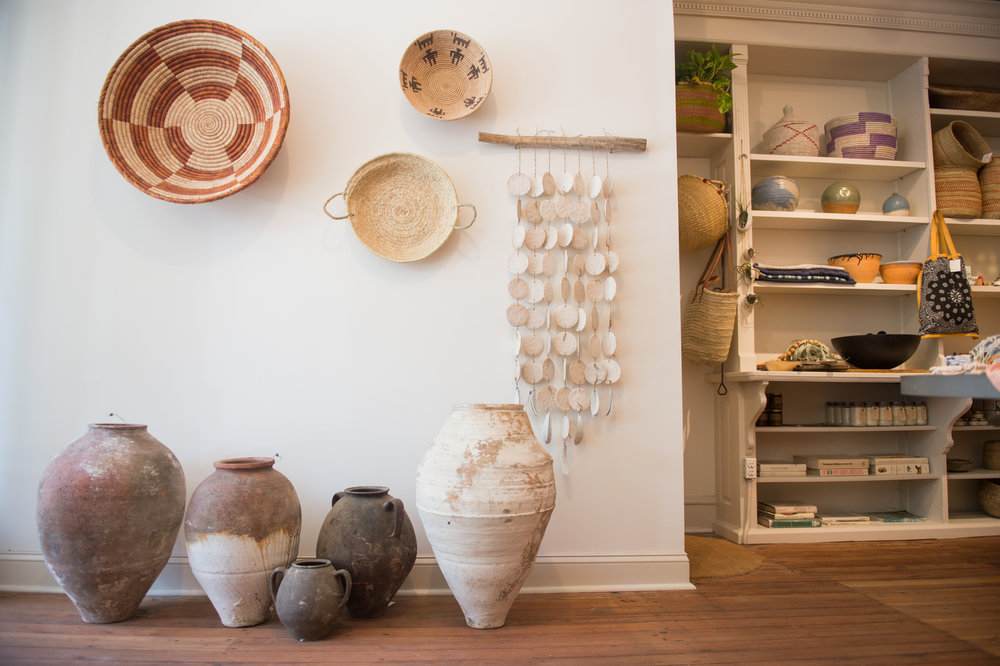Vestige  in Fishtown has beautiful sandy neutrals - everything from Ceramics to textiles