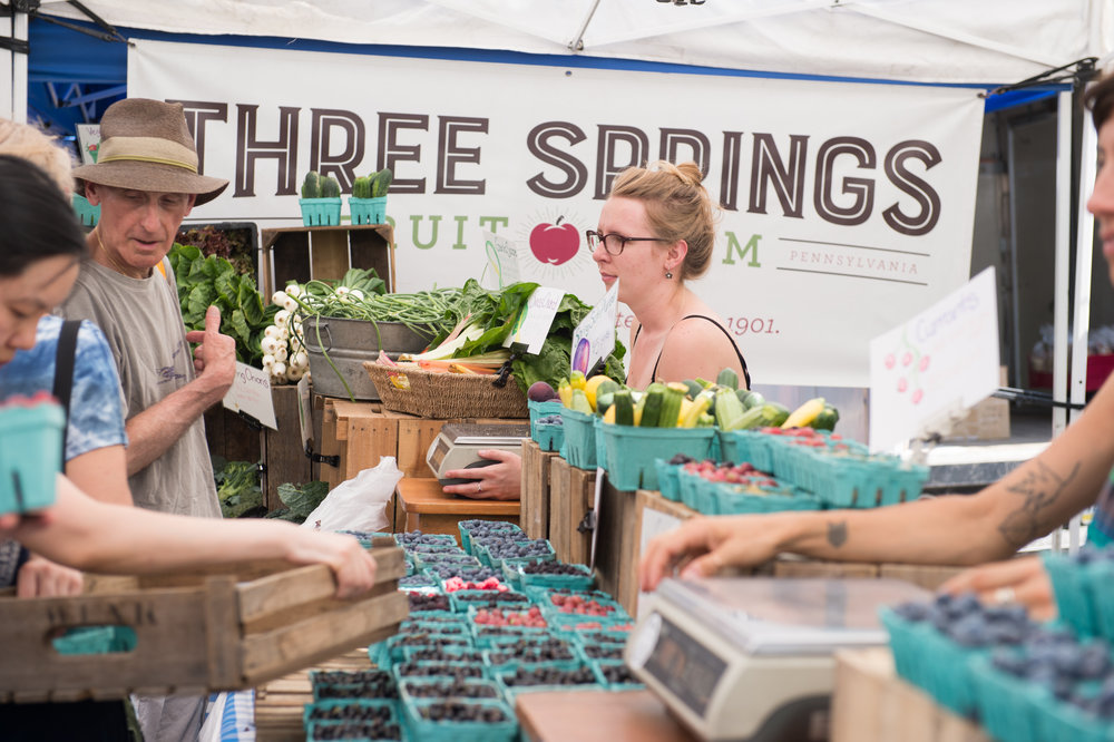 Three Springs Fruit Farm at Headhouse Market