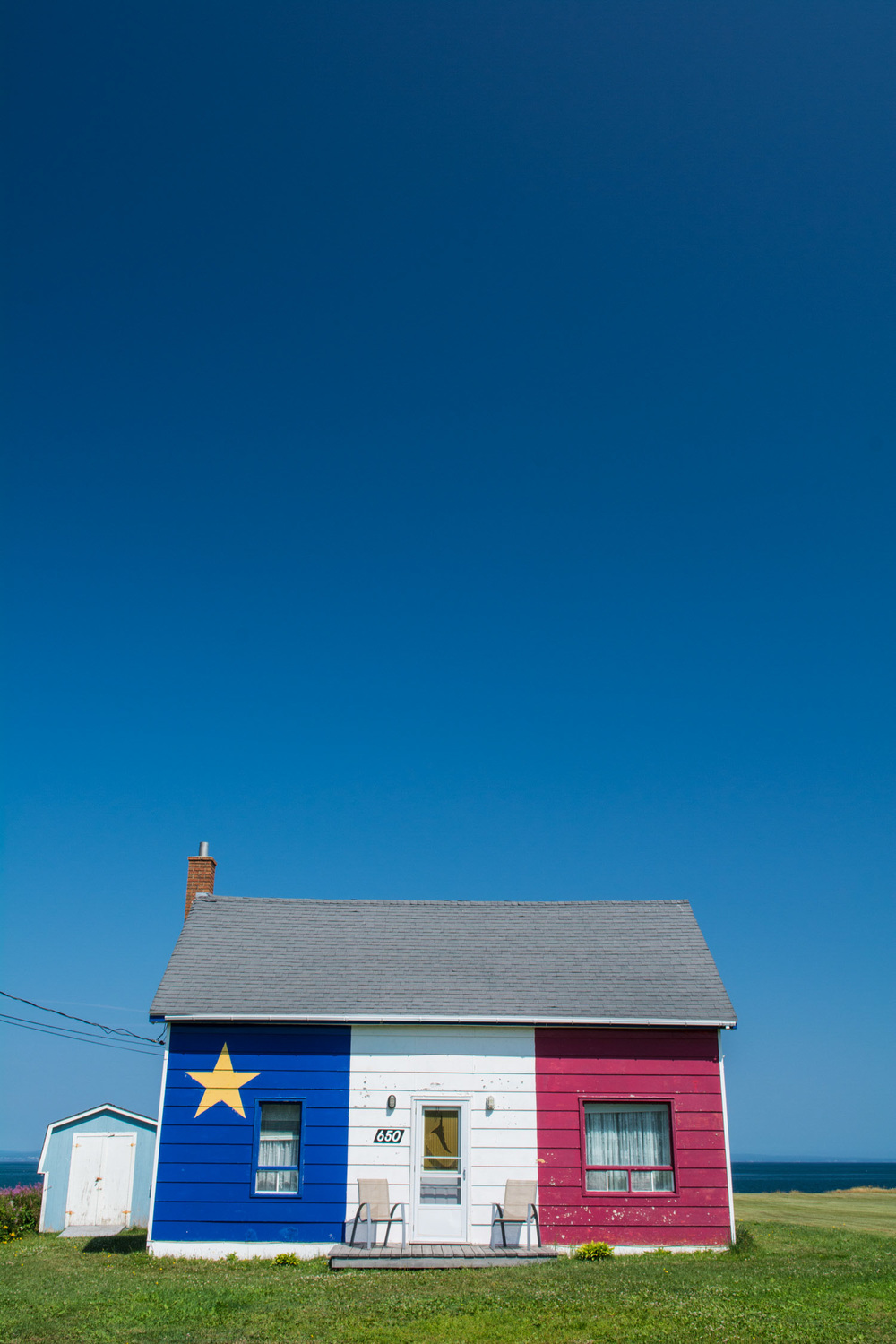 Acadian Flag House