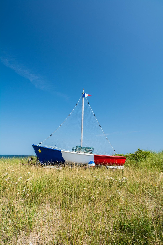 Acadian Flag Boat