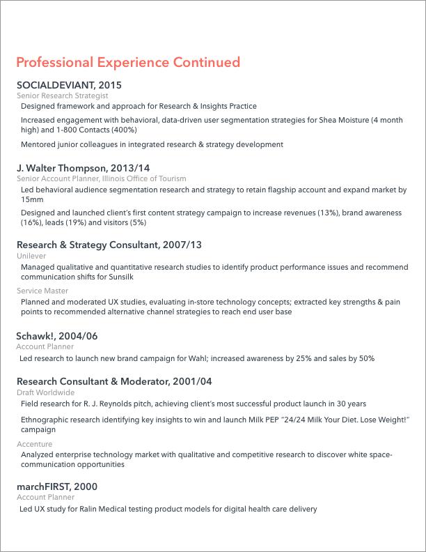 Resume — Jennifer Berman