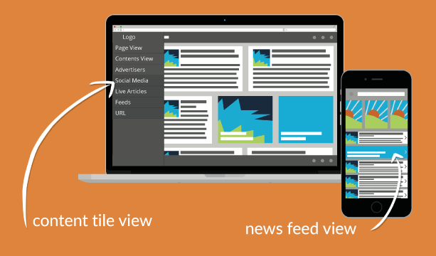 Responsive Views - Providing different reader experiences