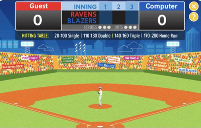 k12 sample: Baseball