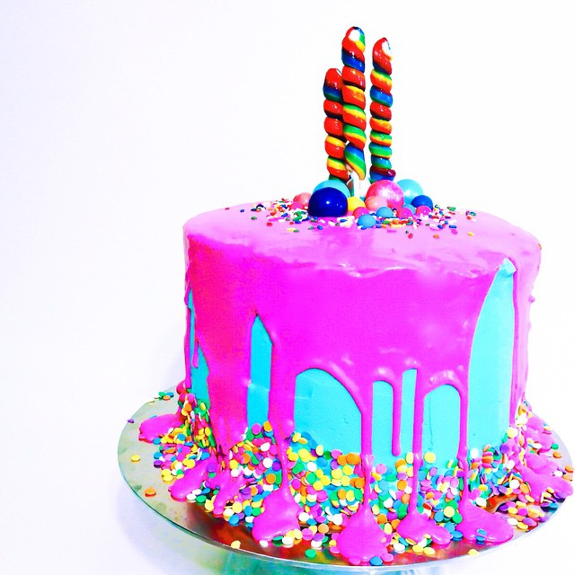 A very special #birthday cake for @gencap 🎂 LOVE YOU!! #artisan #cake #dessert #foodie #handmade #instagood #igers #hollywood #dtla #noeycakes #bday #pretty #vsco #vscocam #bestofvsco #vscophile