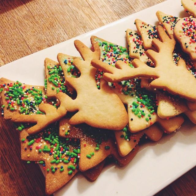 Coooookiessssss! #artisan #christmas #cookies #dessert #foodie #foodporn #instagood #la #laeats #losangeles #noeycakes #pretty #vsco #vscocam #vscophile