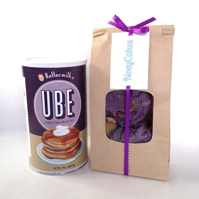 Happy National Best Friends Day!!!! You know your BFF would love one of the new @buttermilkinc Ube sets 😍 #artisan #bff #cookies #breakfast #foodie #igers #la #losangeles #nom #noeycakes #purpleyam #ube