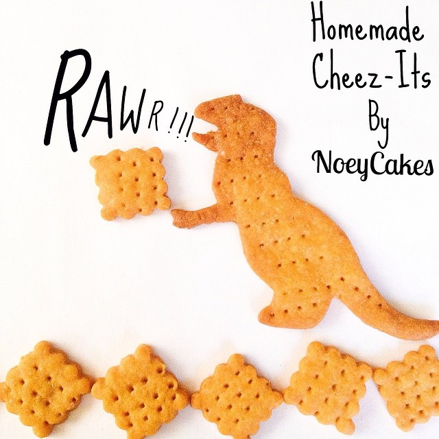#fbf to when we made homemade sharp cheddar Cheez-its! It may be time to bake some up over the weekend! (The dinosaurs are our favorite.) #artisan #crackers #foodie #foodporn #handmade #iphoneonly #instagood #igers #la #laeats #losangeles #nom #noeycakes #savory #snacks #treats #yum #santamonica