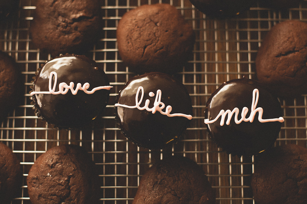 """NO-stess"" Valentine Cupcakes"