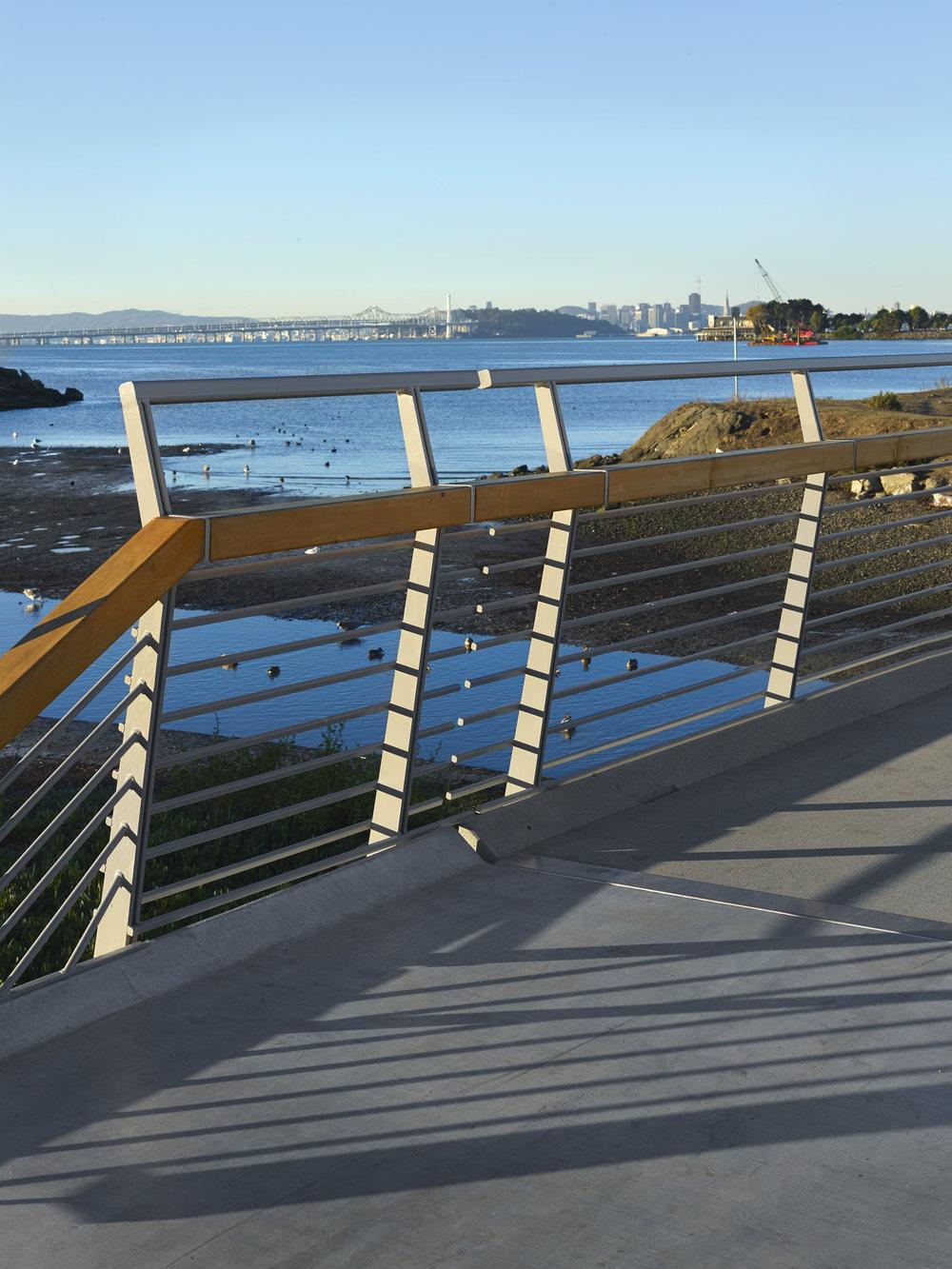 Client: City of Berkeley Landscape Architect (Prime): 2M Associates Architect: Endres Ware Civil & Structural Engineer: Endres Ware Geotechnical: Kleinfelder, Inc. Photographer: Cesar Rubio