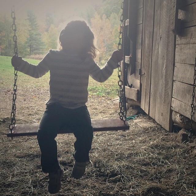 My littlest Little. #FarmDays