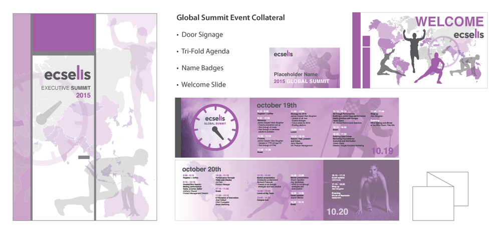 Google Global Event Summit Design for Ecelsis