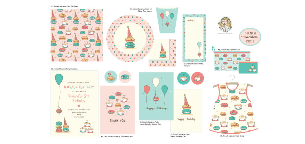 FRENCH MACARON PARTY COLLECTION