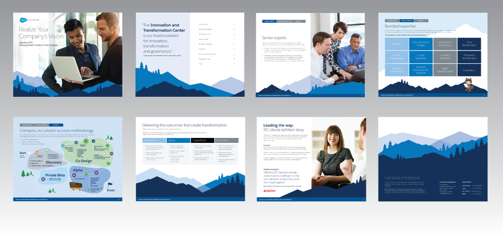 SALESFORCE   Project:   Salesforce (ITC)  Innovation and Transformation Center eBook: Helping Leaders Transform their Business.