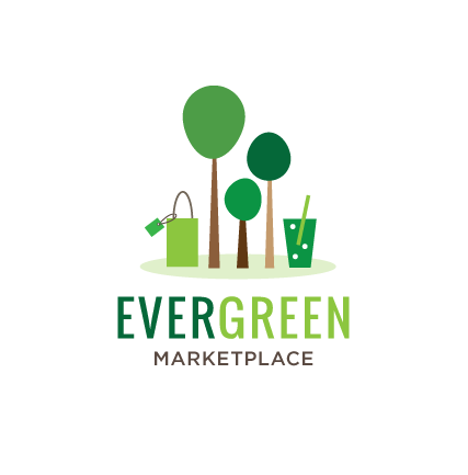 Evergreen Marketplace Logo Design by Kimberly Schwede Graphic Design.png