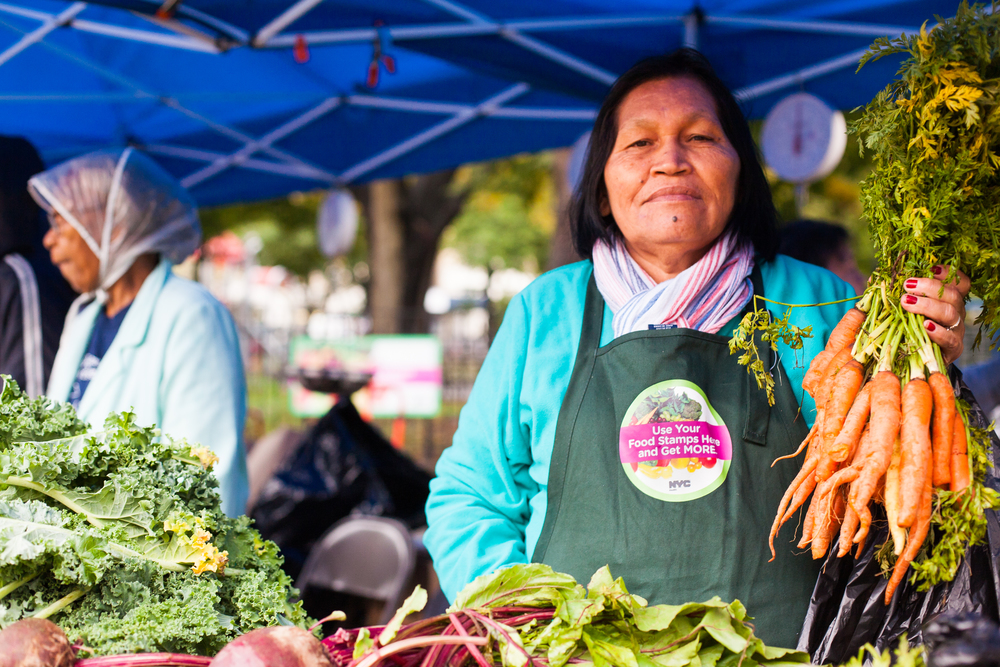 The market accepts all form of food assistance payment options.