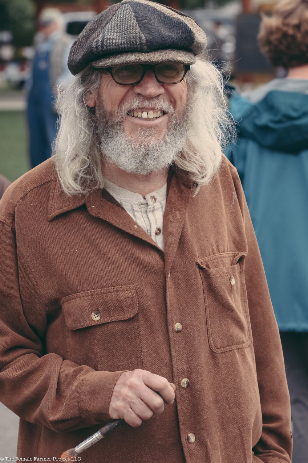 the artist, Joe Lee Davidson