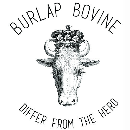 - BURLAP BOVINEWelcome to Burlap Bovine-- your farm to fashion one-stop-shop! Let Burlap Bovine help you differ from the herd. Burlap Bovine offers accessories for in the barn or on the town, including jewelry and other cute cattle accessories. And the best news is you don't have to wait until the cows come home to visit again! Meanwhile-- back at the ranch, we can custom brand any hair on hide item in the shop! Please select