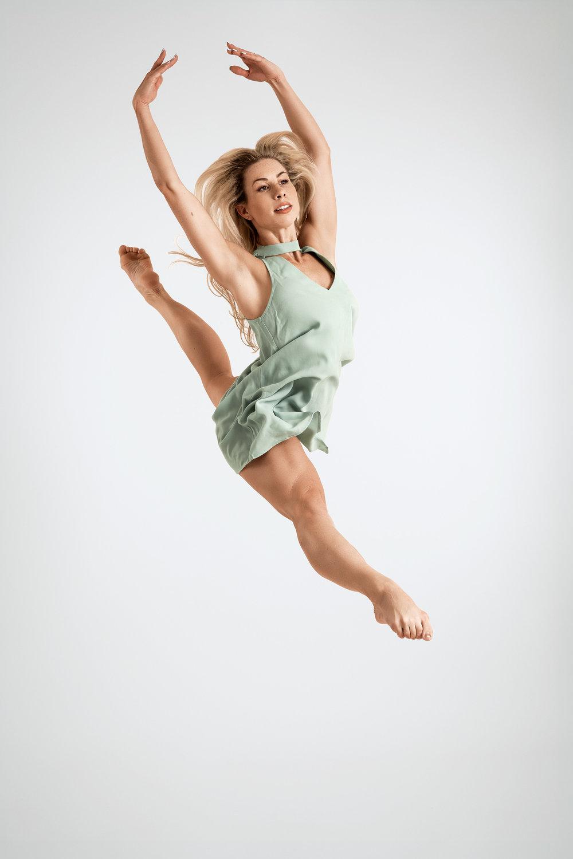 Danseres Samantha Newman