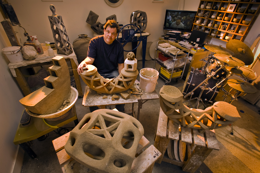 EP 75: Andy Ruble on surviving the teaching treadmill and developing his sculptural relics