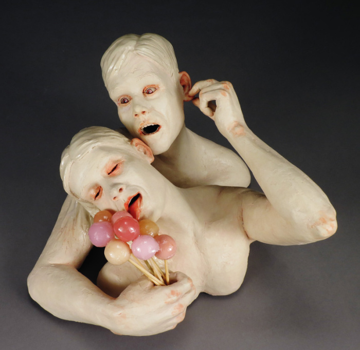 150: The ceramic figure with Carole Epp, Magda Gluszek, Jill Foote-Hutton, and Tammy Marinuzzi