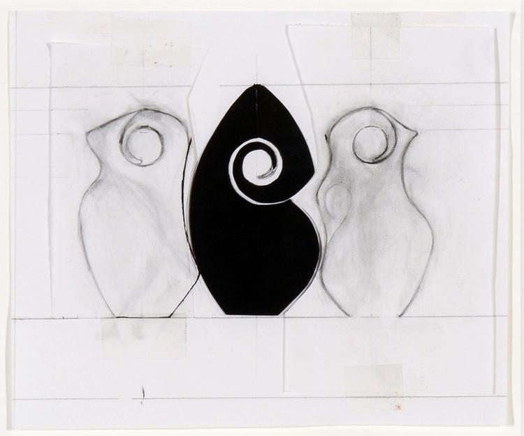 McHorseInkonPaperSpiral Triptich.jpg