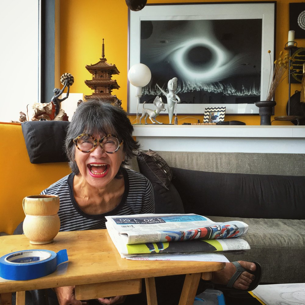 Patti in her Seattle home.
