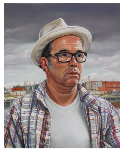 This is a portrait of me painted by the fine artist Kevin Cyr (www.kevincyr.net). Lucky me!!