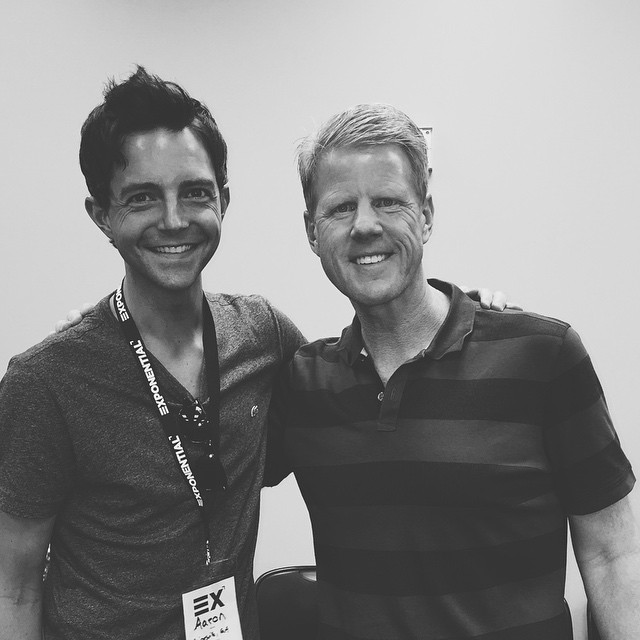 Loving the chance to hang out with Jonathan Falwell and the Liberty Church Planting Network at Exponential.