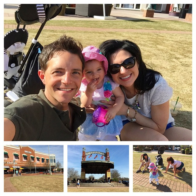 Fun on the lawn at the Mall. #valentinealise