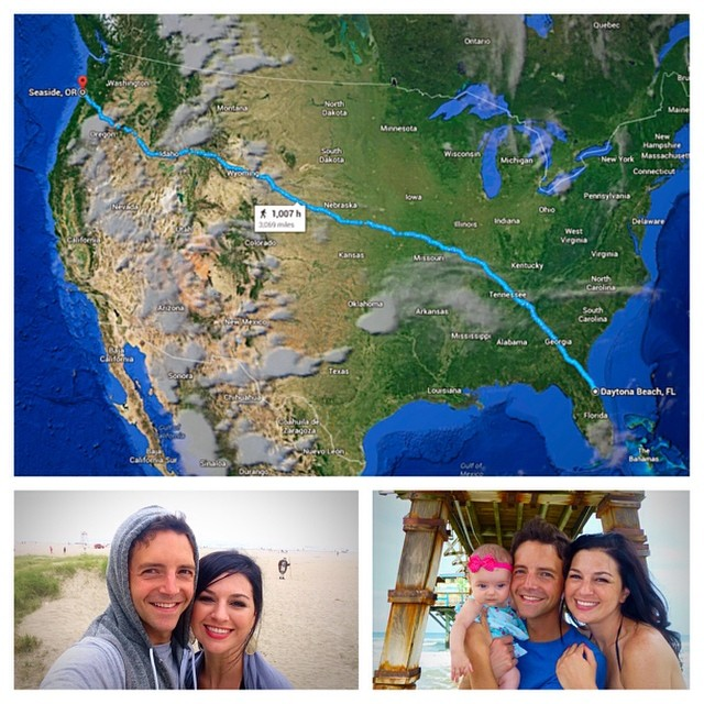 Home from our 13-day COAST TO COAST adventure. So amazing & unforgettable.  So grateful to be back home.  #valentinealise