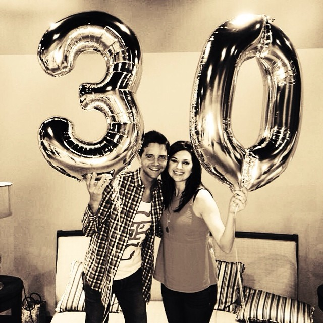 I have the most awesome wife in the world!!  She threw me an awesome surprise bday party…on top of the zillion other things she's got going on.  Every day with @andreabenit is the best gift I could imagine.