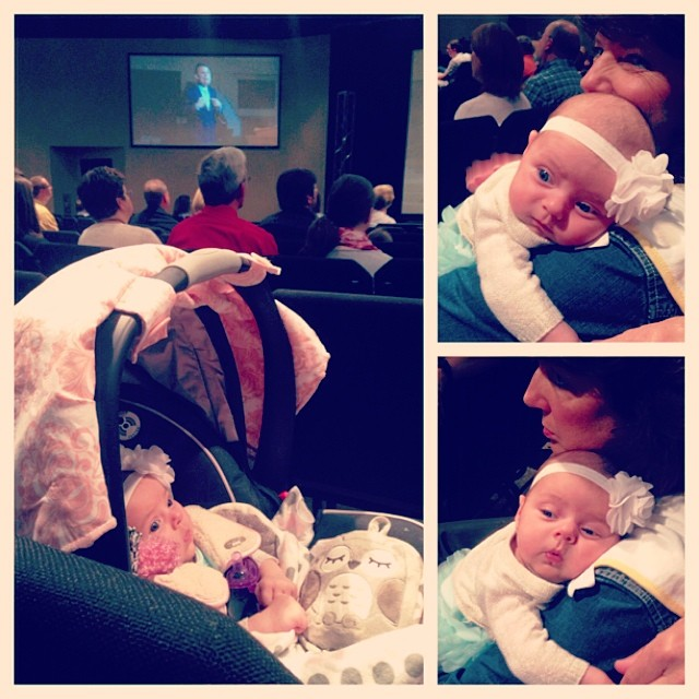 My baby loves good preaching  #valentinealise