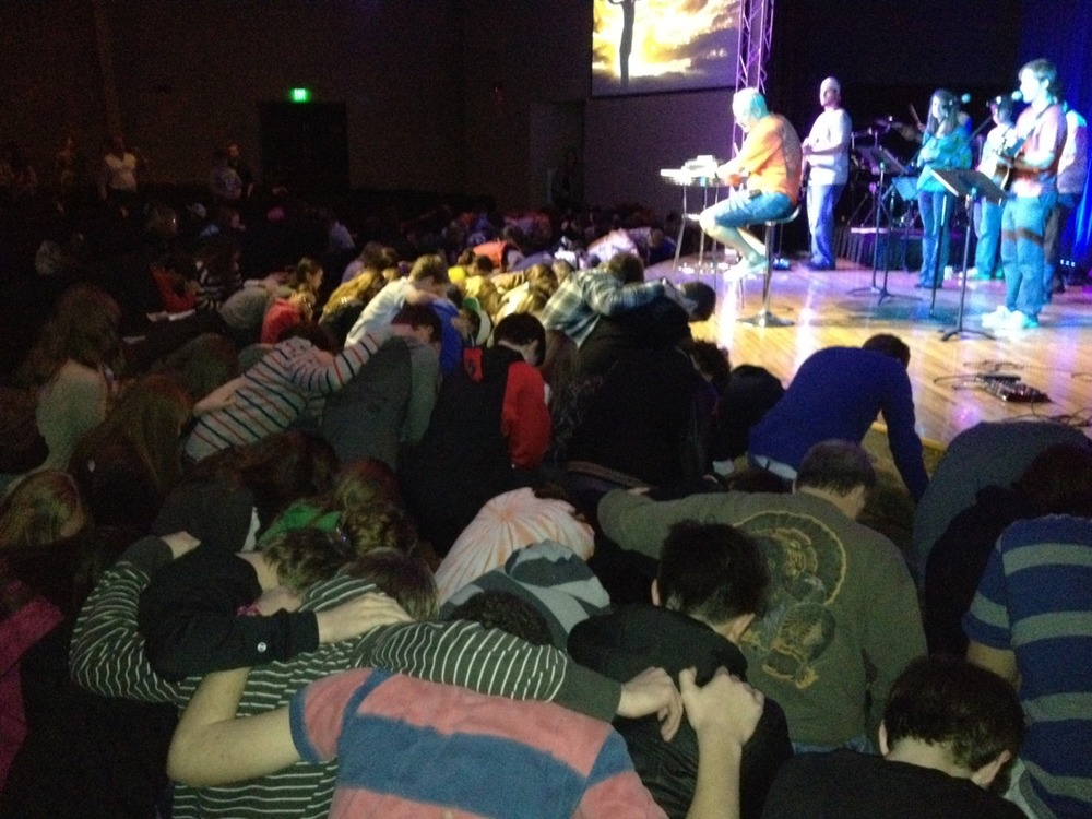 God is moving at Winter Weekend. Tonight, I felt the Lord moving like I haven't felt in a long time. Thank you Jesus.