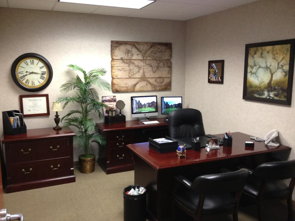 My new office.  Kinda loving it!