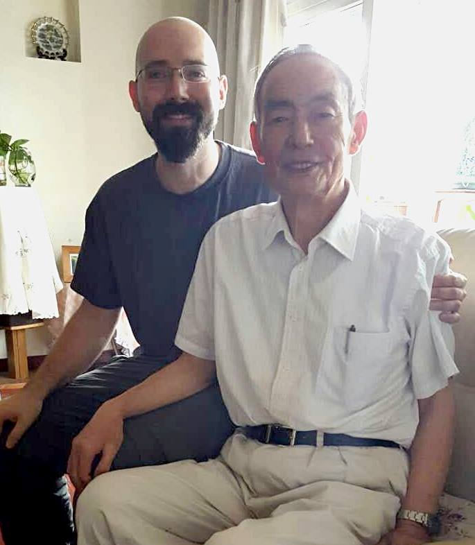 Benjamin Gitchel and Wang Qingyu