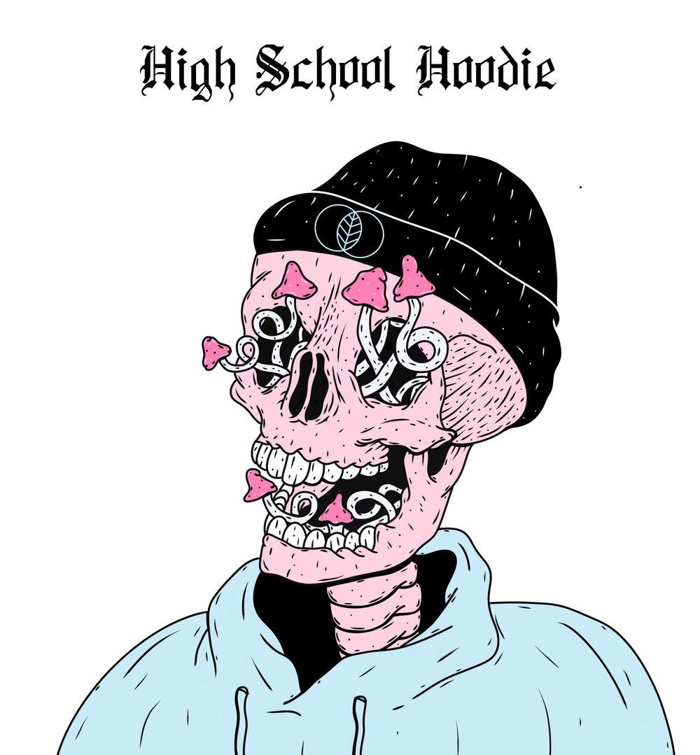 UNTHOTOF - High School Hoodie