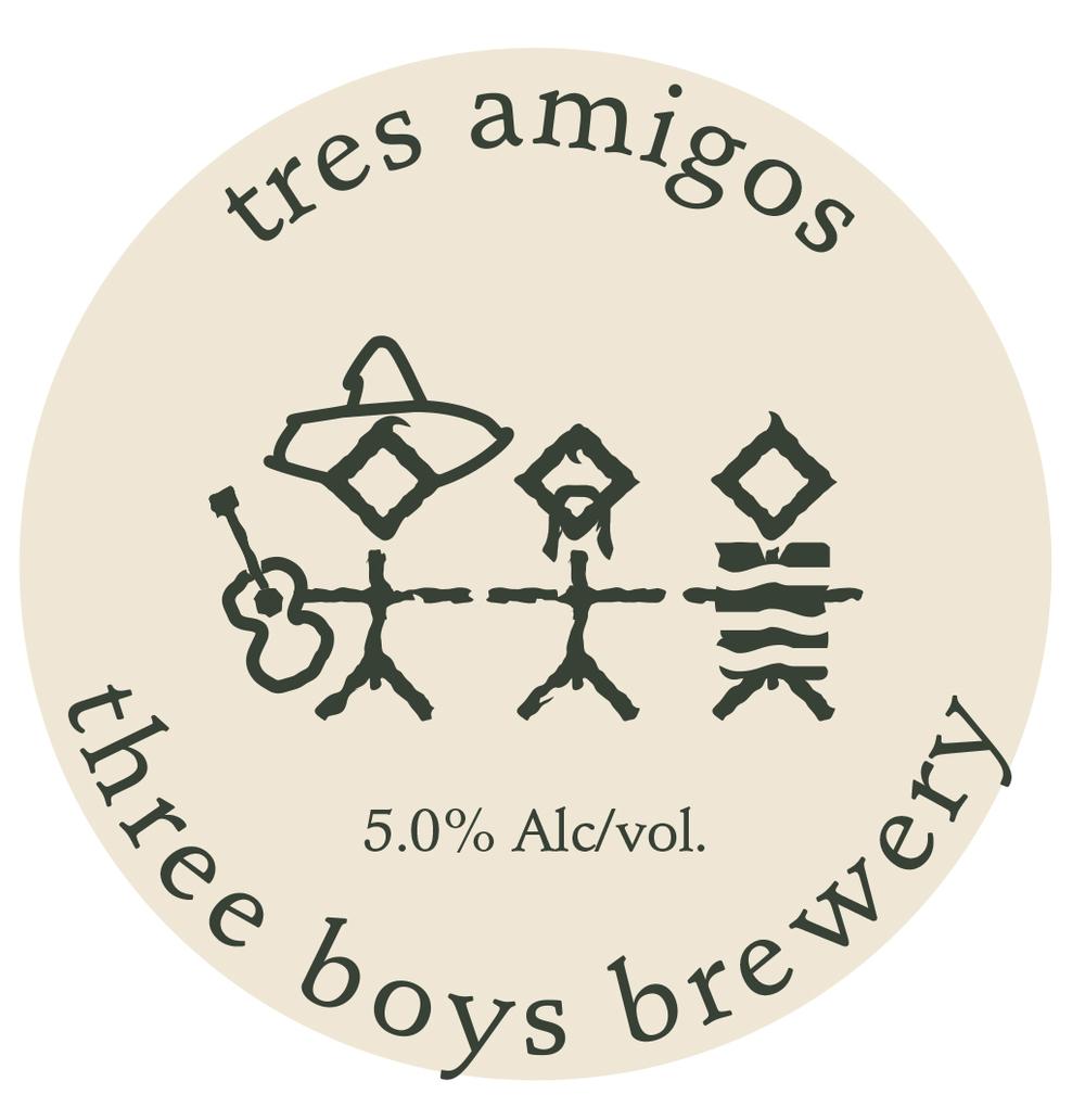 Tres Amigos - 5.0% ABV