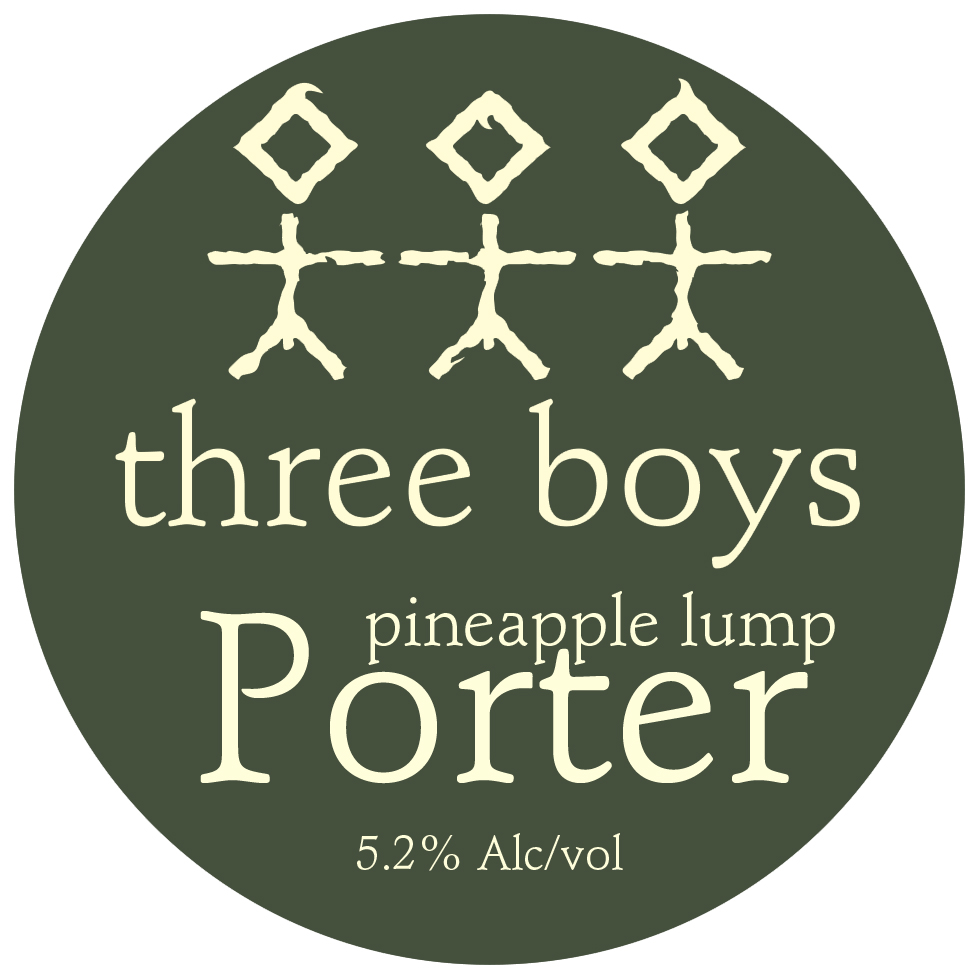 Pineapple Lump Porter - 5.2% ABV