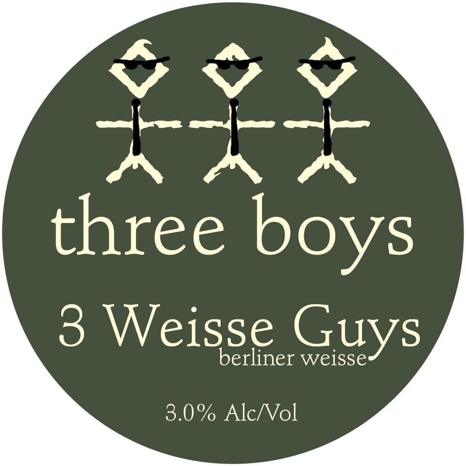 Three Weisse Guys - 3% ABV