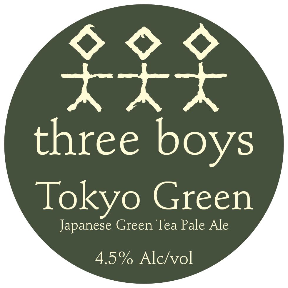 Tokyo Green, Japanese Green Tea Pale Ale - 4.5% ABV