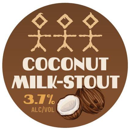 Coconut Milk Stout 3.7%