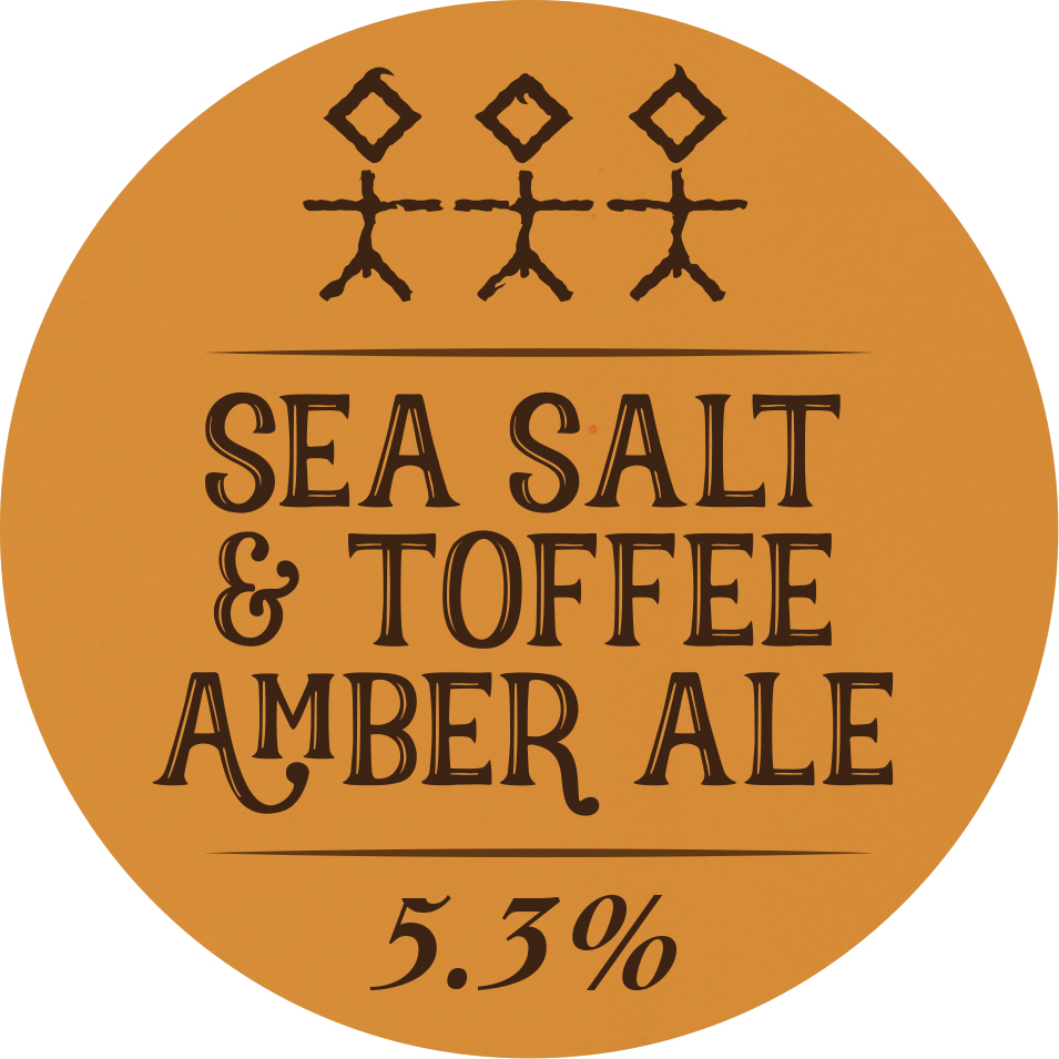 Sea Salt & Toffee Amber Ale - 5.3% ABV