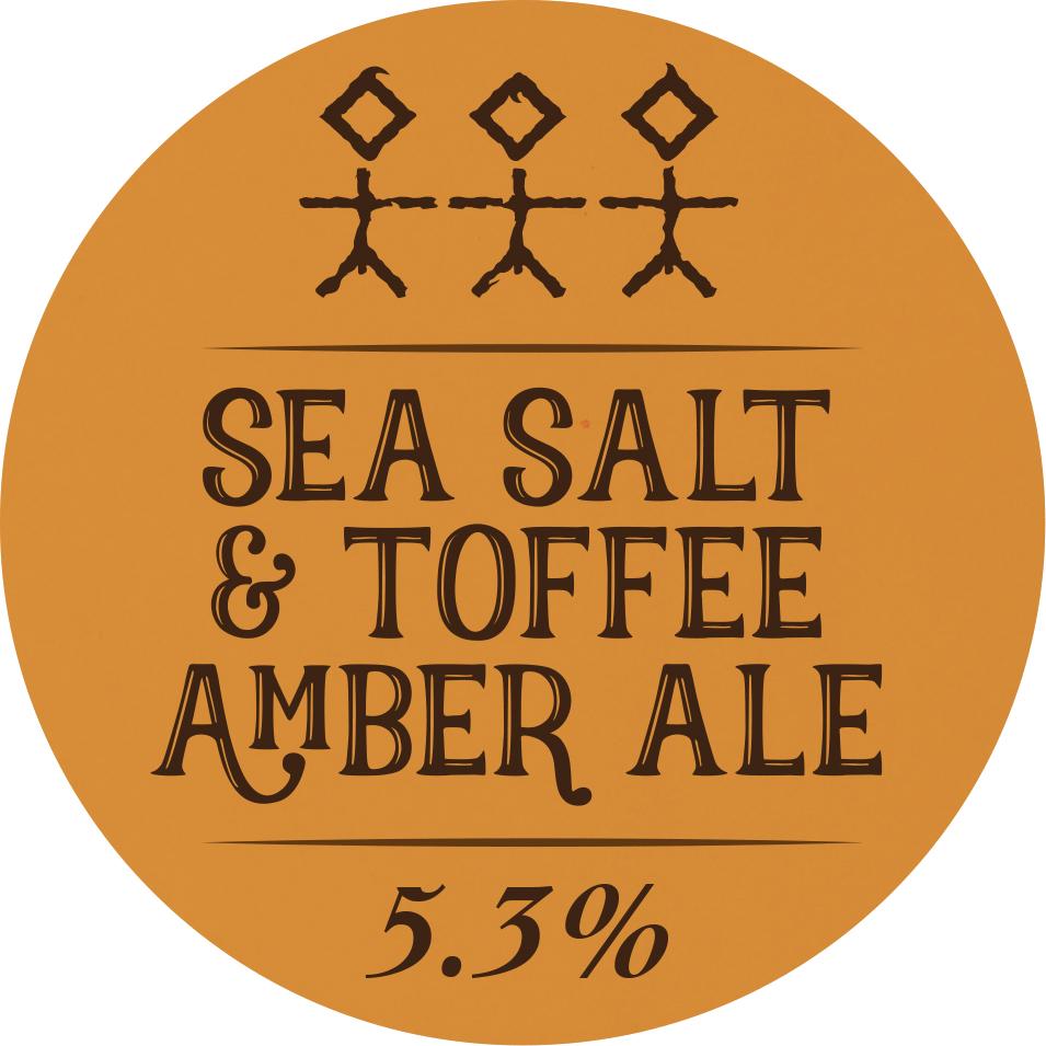 Sea Salt & Toffee Amber Ale - 5.3% ABV